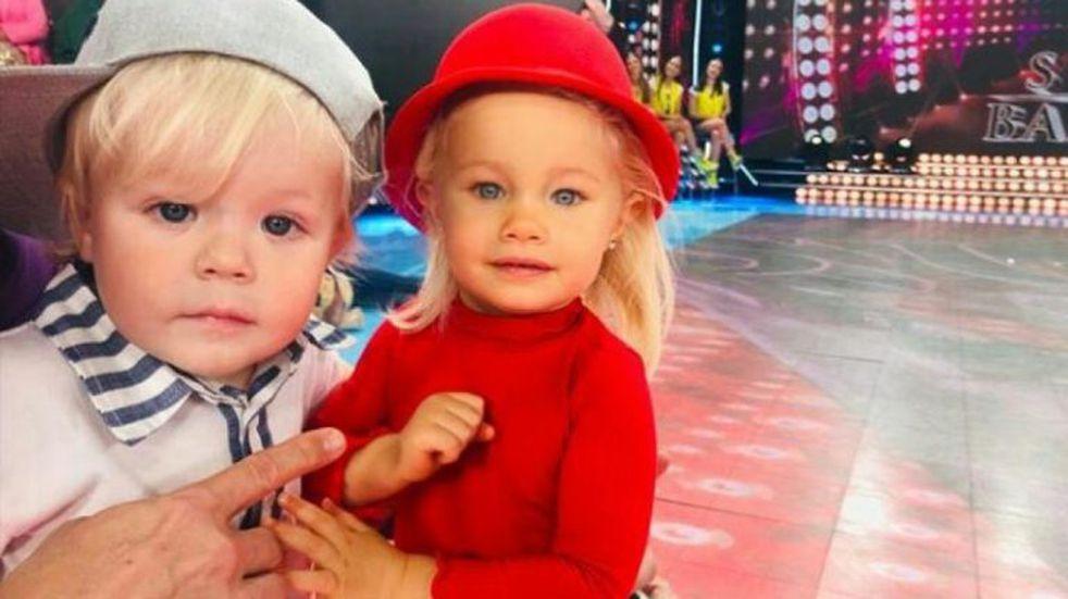 """Los hijos de Flavio Mendoza y Luciana Salazar """"pegaron onda"""""""