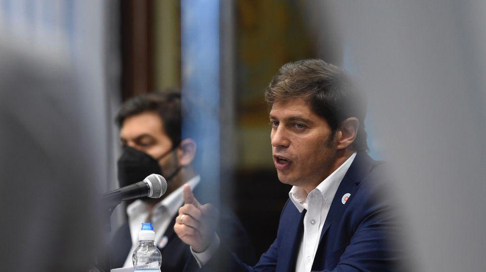 """Axel Kicillof arremetió contra Horacio Rodríguez Larreta: """"Debería empezar por acatar las leyes"""""""