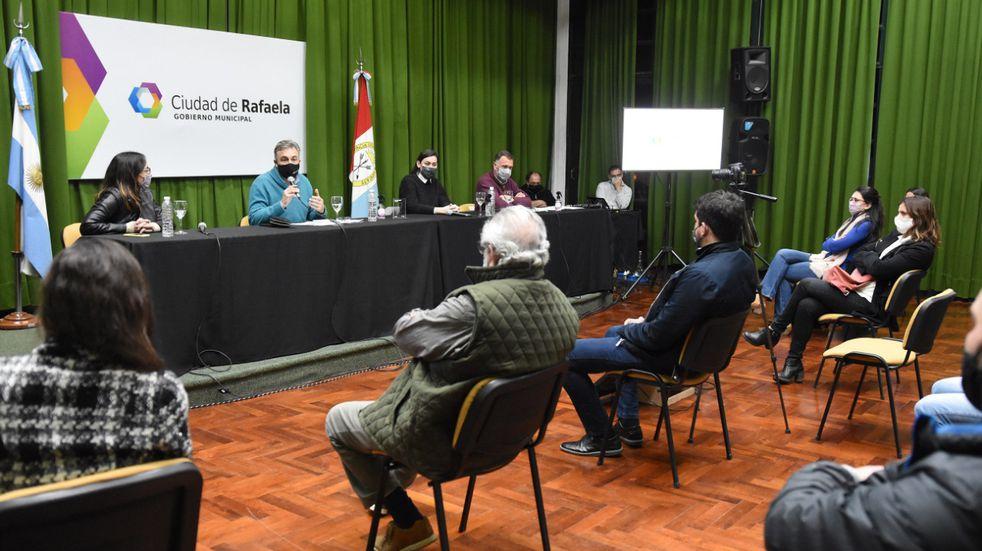Presentaron el programa Rafaela Emprende Digital