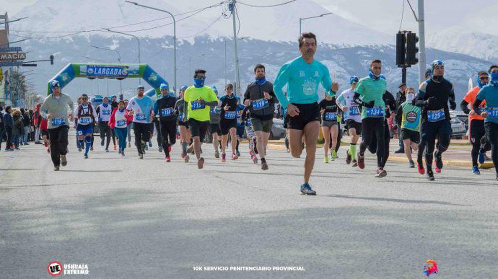 Running: dos riograndenses triunfaron en Ushuaia