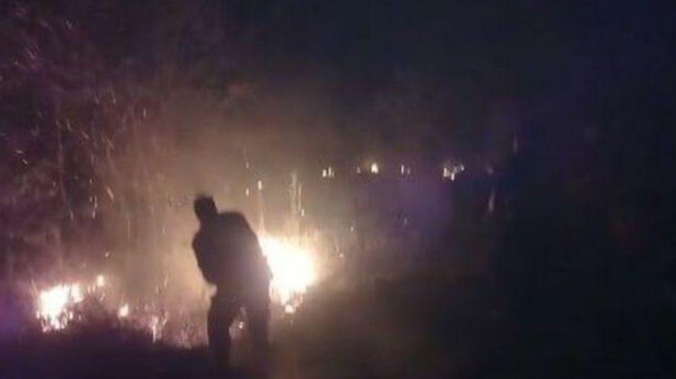 """Incendió accidentalmente su vivienda cuando se encontraba quemando """"rozados""""para cultivar la tierra"""