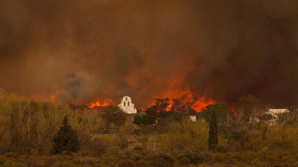 En 30 años el fuego destruyó el equivalente a ocho veces el tamaño de la ciudad de Córdoba