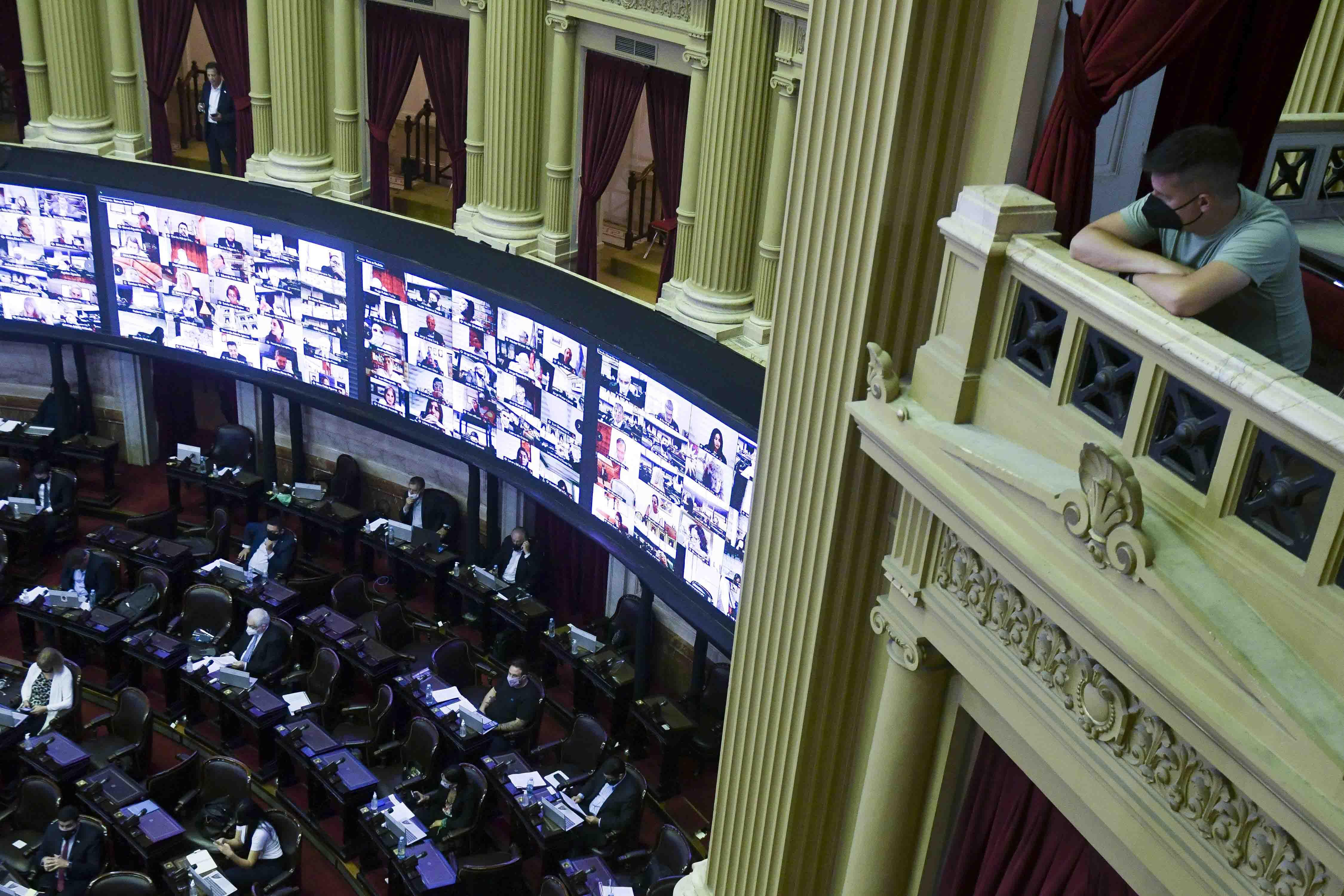 Camara de Diputados Sesi�n impuesto a la riqueza  Foto Federico Lopez Claro