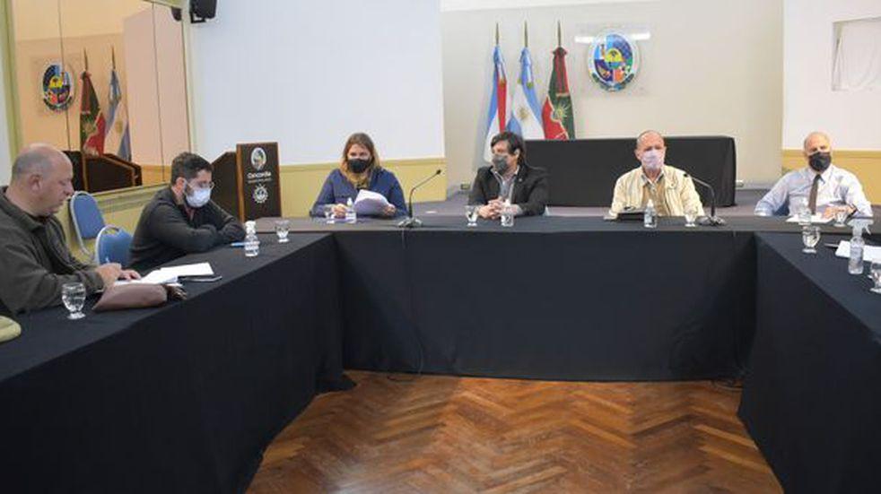 El Jefe de Gabinete se reunió con distintas áreas implicadas en el tema.