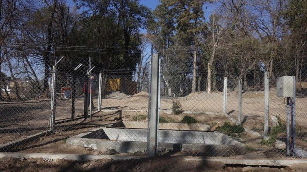 Avanza la obra de cloacas en barrio La Quinta de Carlos Paz