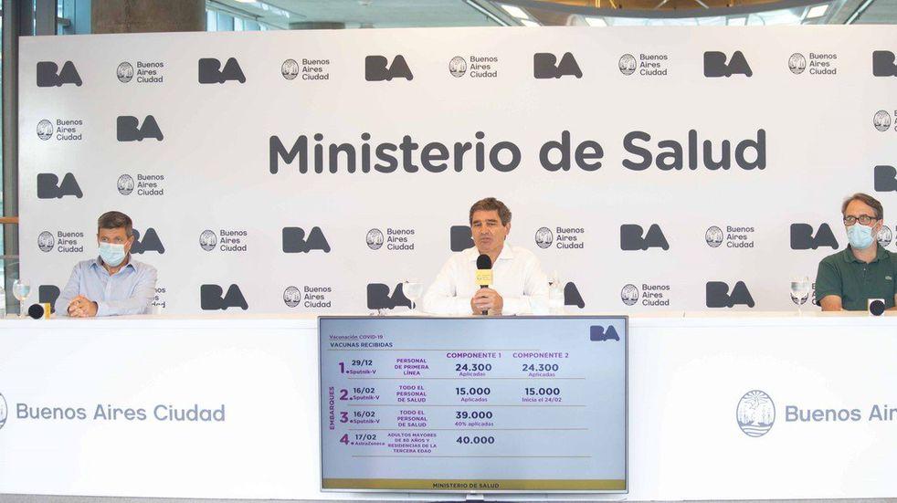 Fernán Quirós negó irregularidades con las vacunas y explicó por qué entregaron dosis a prepagas