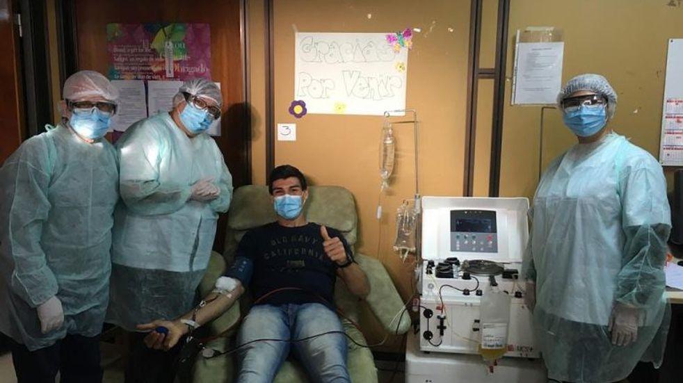 Coronavirus en Bahía: donación de plasma en el Hospital Penna