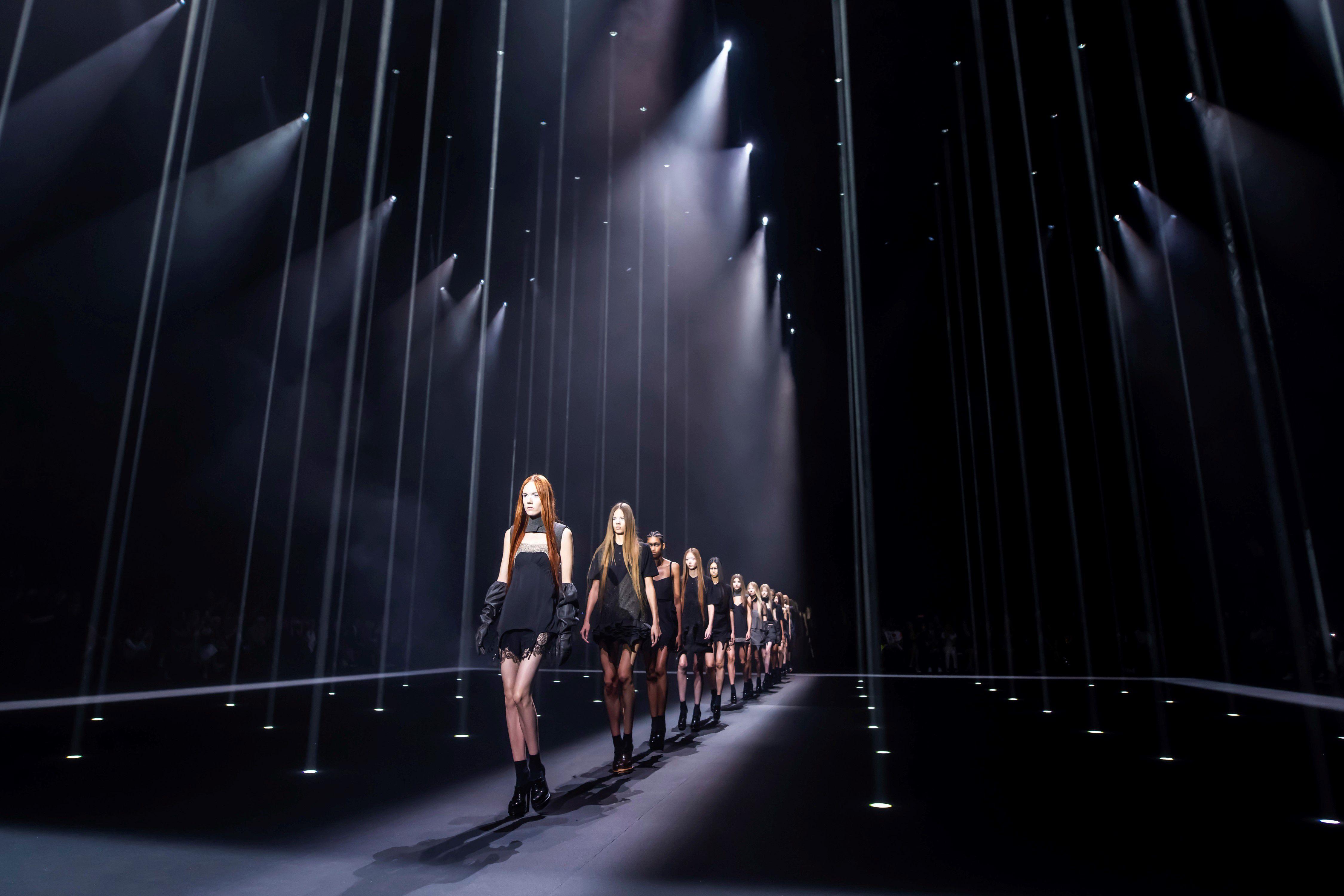 La colección de Carolina Herrera, durante la Fashion Week de 2019.