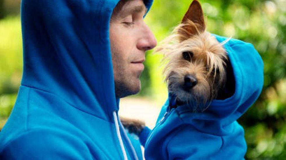 """Entrenador """"Perrosonal"""": mostró cómo su perro lo ayuda a hacer abdominales y se volvió viral"""
