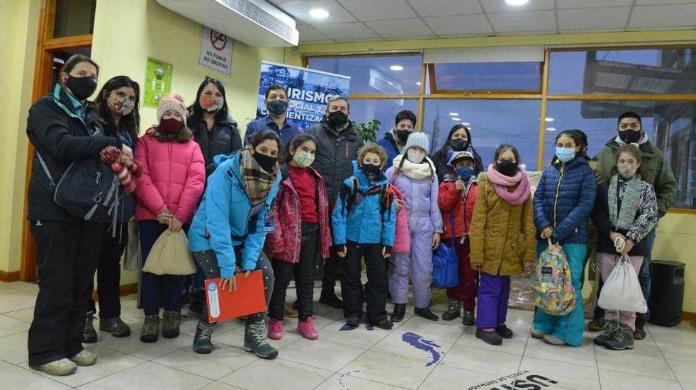 Turismo Social: estudiantes de Tolhuin recorrieron la ciudad