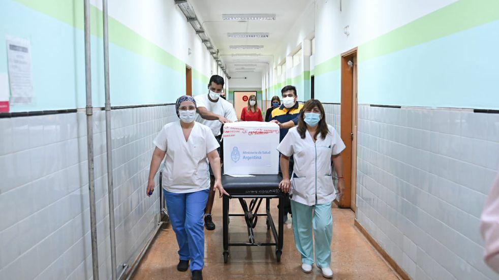 San Luis recibirá 3.150 segundas dosis de la vacuna Sputnik V