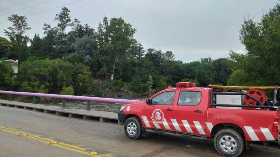 Tras la creciente, continúan los operativos preventivos en el río San Antonio