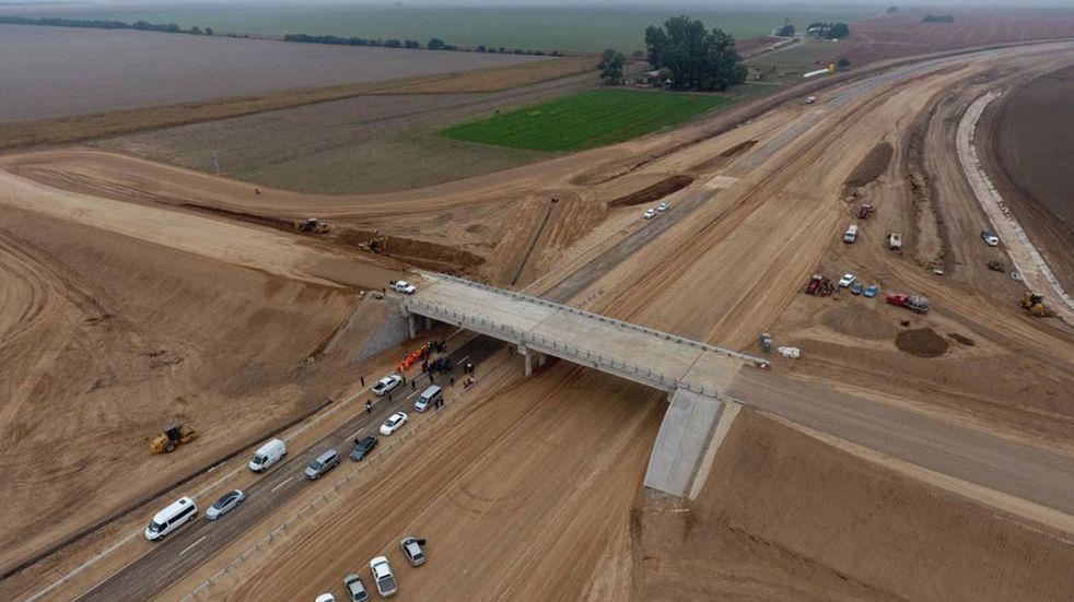 En mayo o junio el Presidente Alberto Fernández inauguraría dos tramos de la Autopista 19