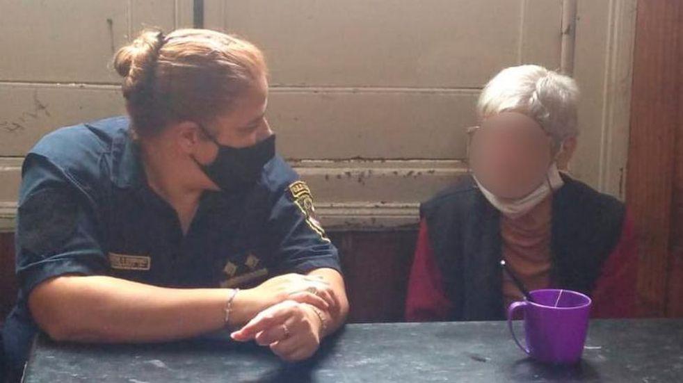 Villa del Totoral: una mujer de 70 años estuvo tres días tomando leche en polvo