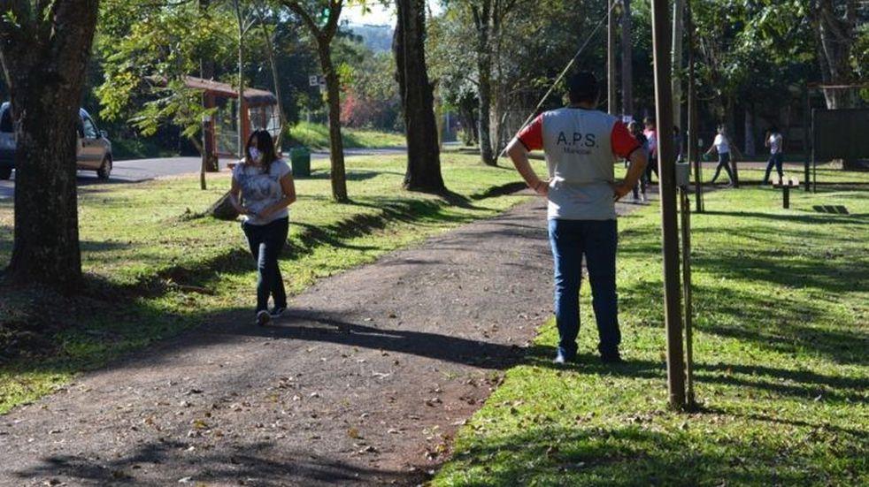 El intendente de Montecarlo destacó el comportamiento durante las caminatas recreativas