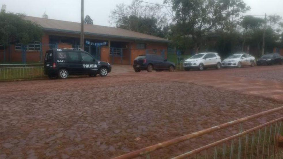 Eldorado: robaron elementos electrónicos de una escuela
