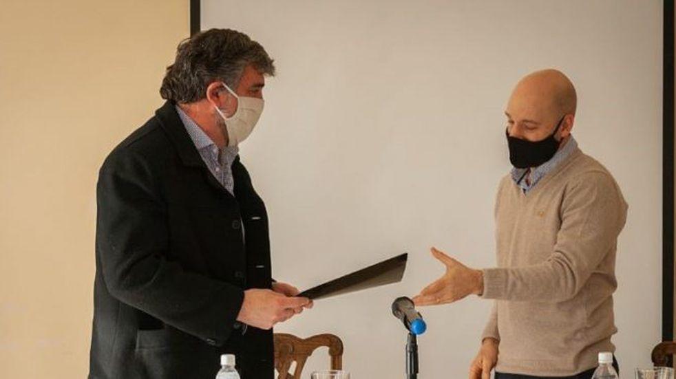El municipio de Puerto San Julián firmó convenio con el Colegio médico veterinario de Santa Cruz