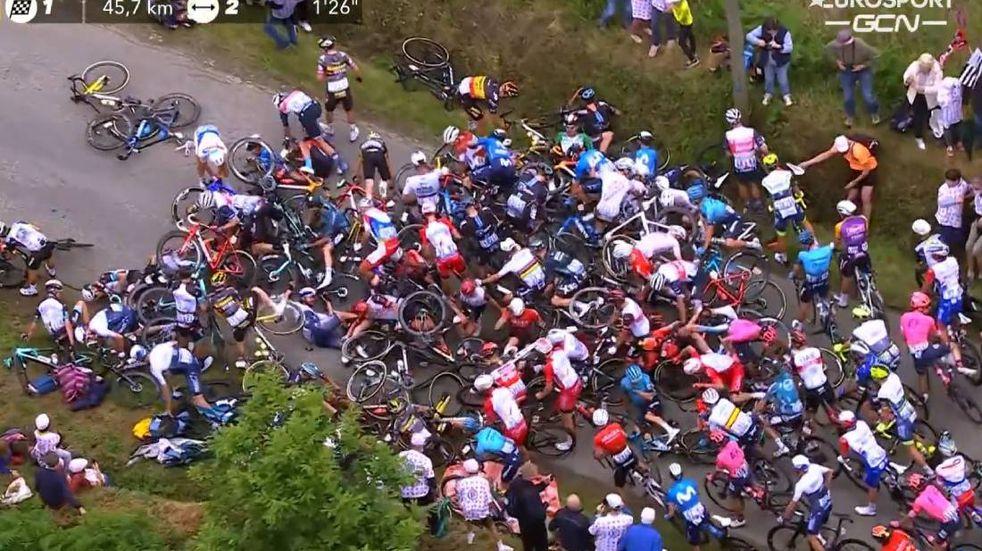 Habló la responsable del accidente del Tour de Francia