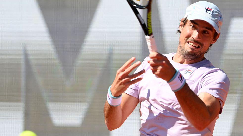 Guido Pella se lesionó y se retiró entre lágrimas del ATP de Múnich