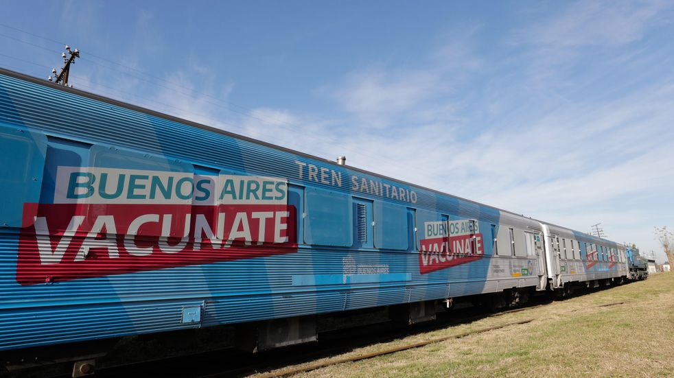 El Tren Sanitario de Provincia llegó a Azul