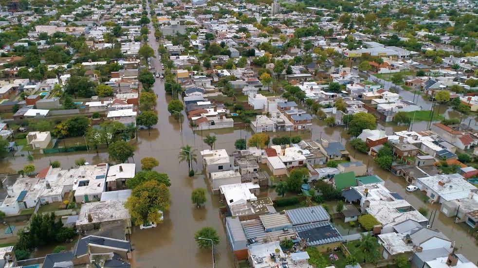 Temporal en Marcos Juárez: destinan 22 millones de pesos para asistir damnificados