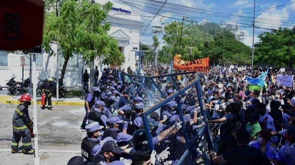 ADEPA repudió el accionar de la Policía en Formosa tras herir a un periodista