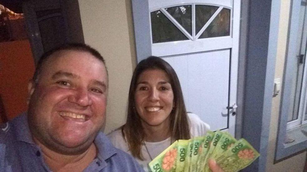 Una abogada devolvió 8 mil pesos a un jubilado que los había perdido