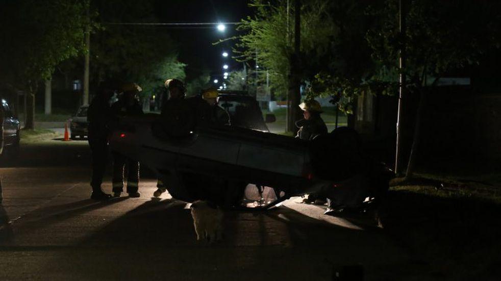 Miramar de Ansenuza: violento accidente de tránsito