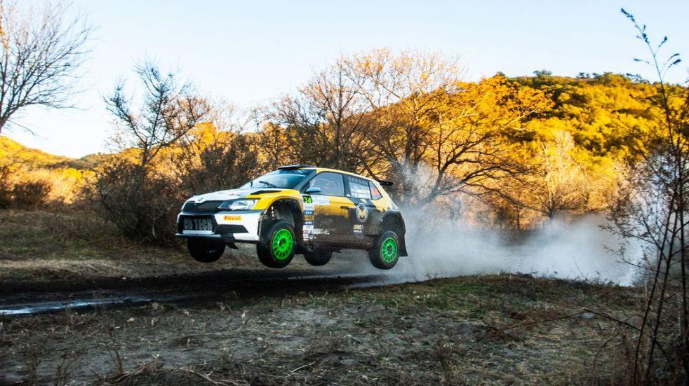 Rally Argentino: Marchetto lidera en Córdoba seguido por Cancio y Alonso