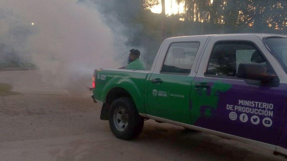 Confirmaron en San Luis el sexto caso autóctono de dengue