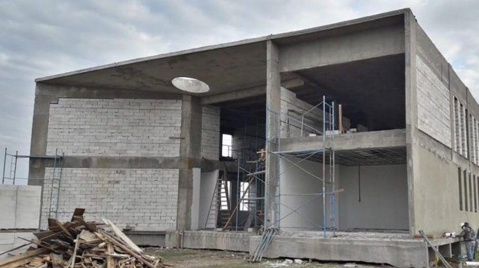 El edificio de la Universidad Nacional de Rafaela tiene un 35% de avance
