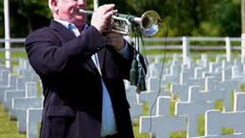 La historia de la trompeta recuperada por un excombatiente, que volvió a sonar en las Islas