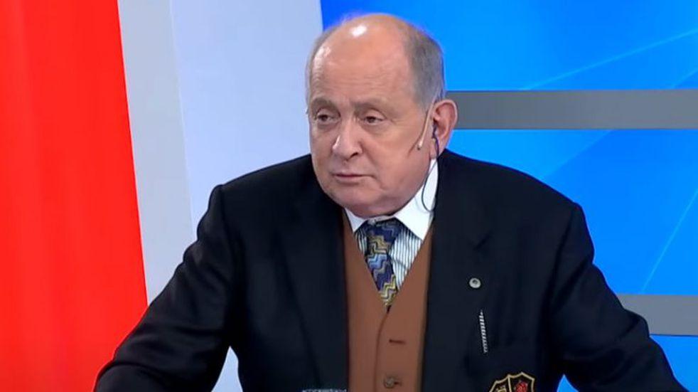 """Chiche Gelblung sobre la muerte de Mauro Viale: """"No lo mató salir a laburar, lo mató la vacuna"""""""