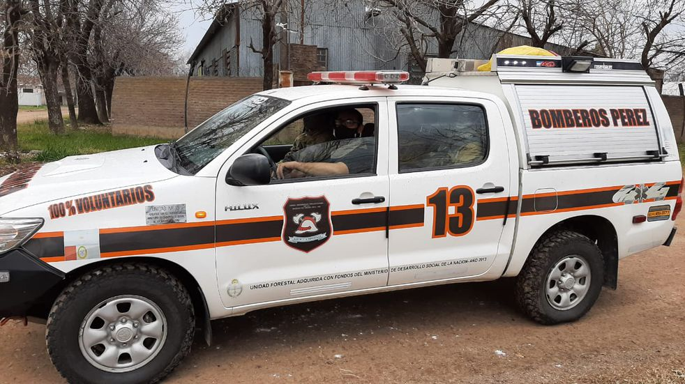 Bomberos de Pérez apagaron 22 incendios en el mes de Julio