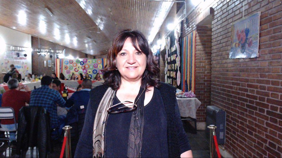 Carmen Laffont, la docente maipucina que está dentro de los 24 mejores del país.