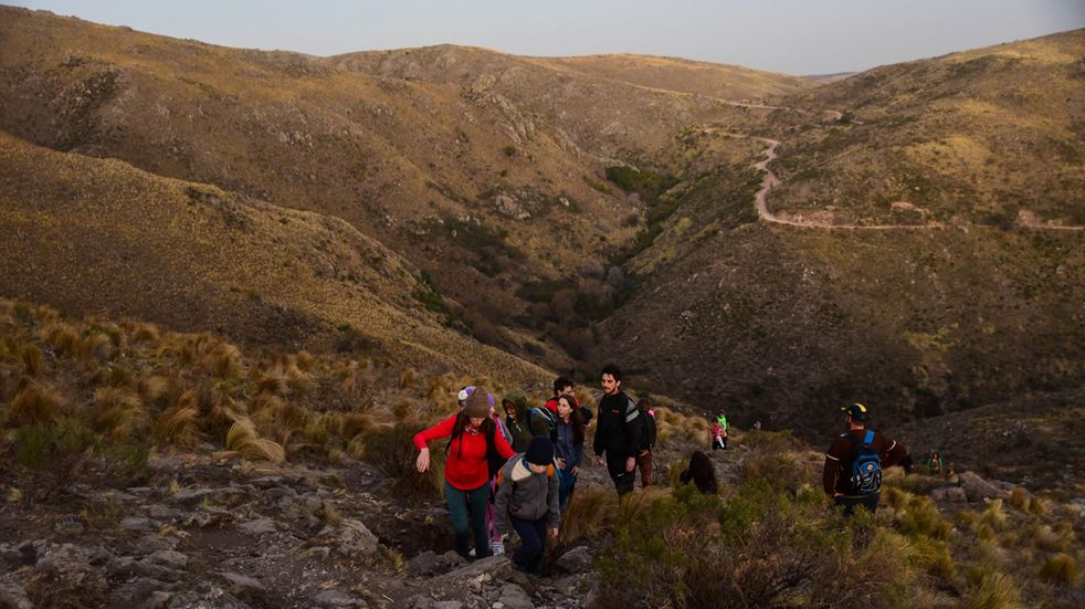 Fin de semana de Trekking en la Falda