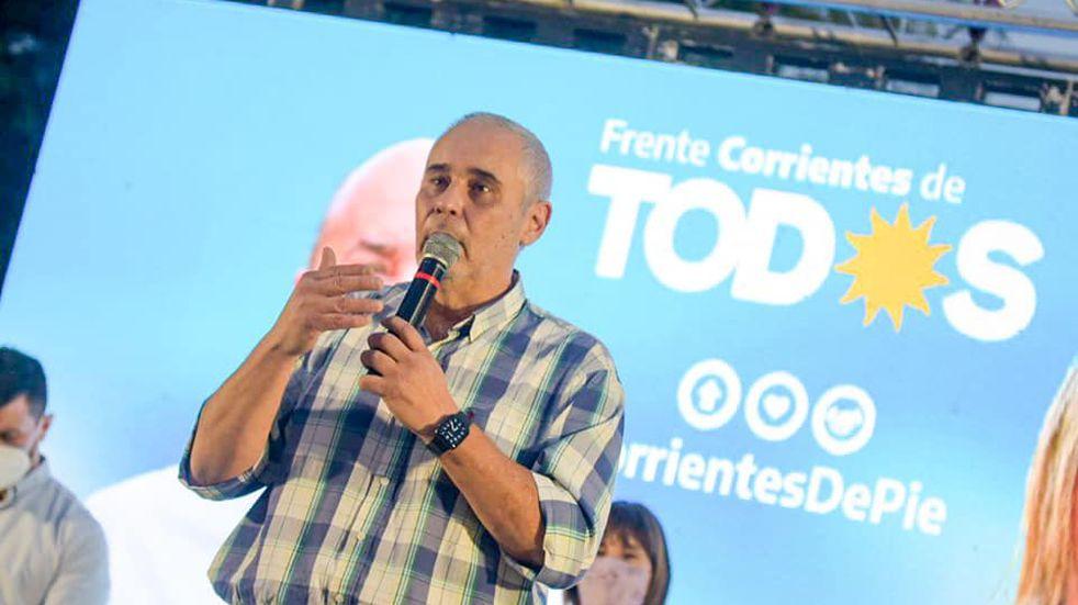 El PJ correntino presentó sus candidatos que competirán con Valdés por la gobernación