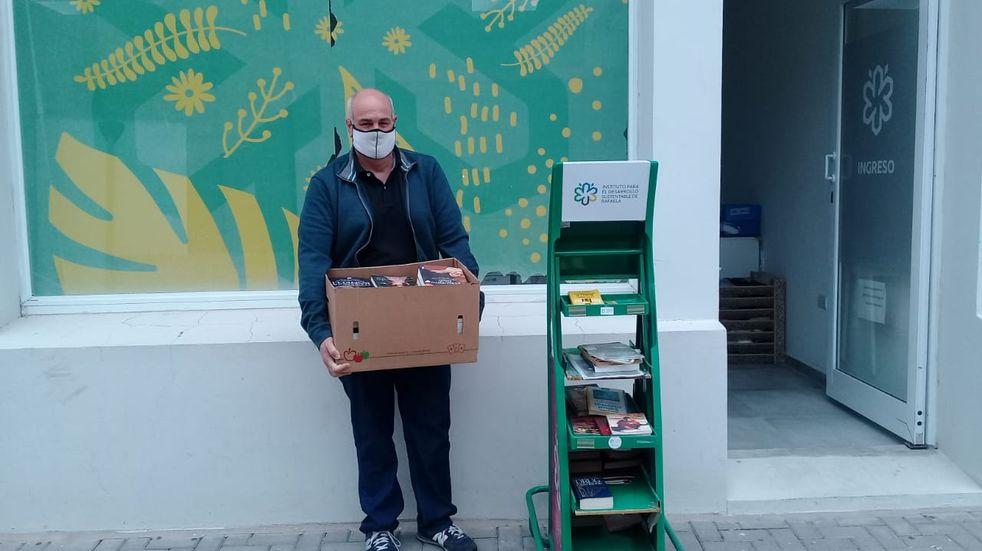 "Donaron 50 libros a la Biblioteca Municipal ""Lermo Balbi"""