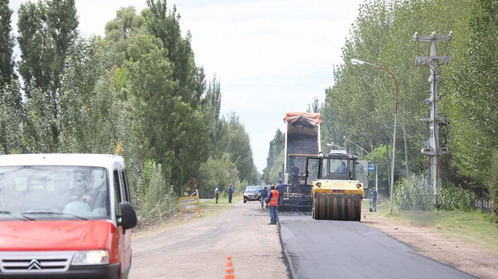Vialidad Provincial amplía las obras en distritos y caminos productivos y turísticos de San Rafael