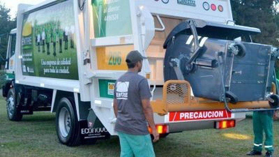 Cronograma especial de recolección de residuos por el paro del martes