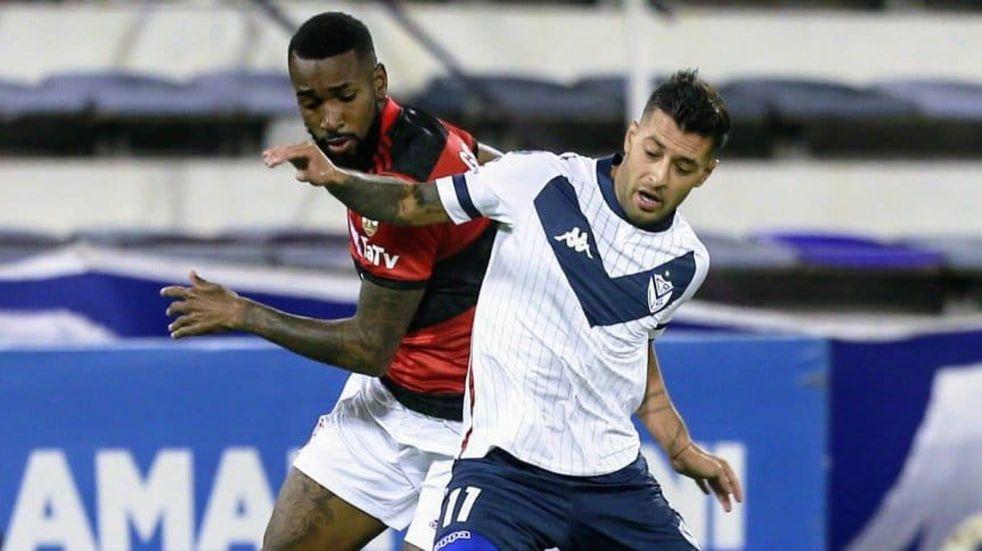 Copa Libertadores: Vélez comenzó con el pie izquierdo y perdió 3-2 ante Flamengo