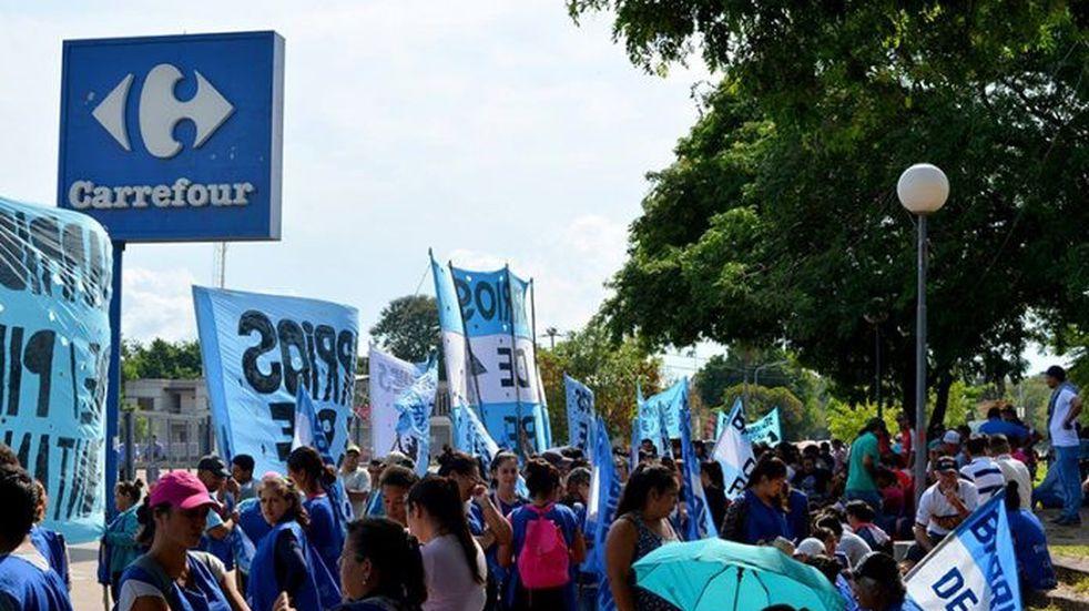 Barrios de Pie marchará a supermercados este jueves para pedir donaciones
