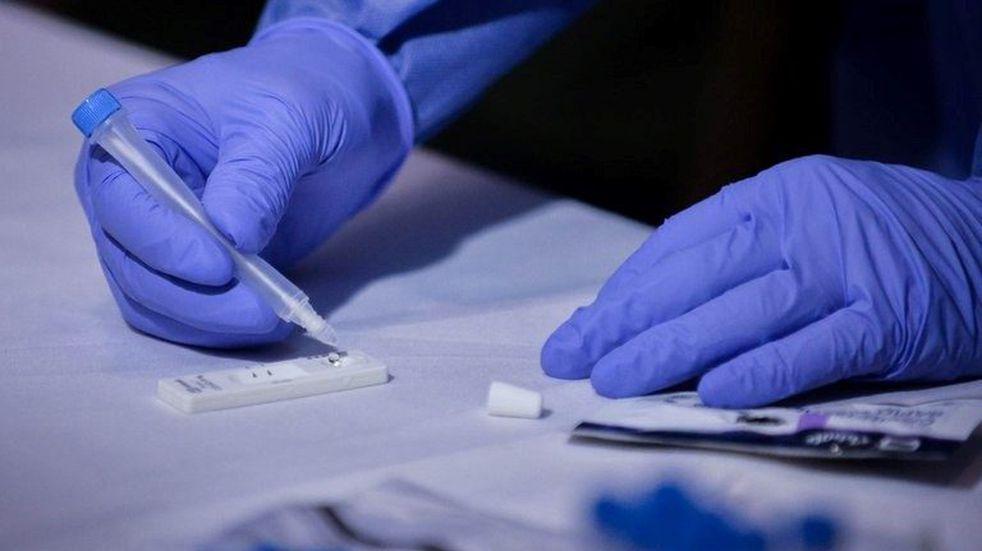 Presentaron el nuevo test de coronavirus en Cipolletti