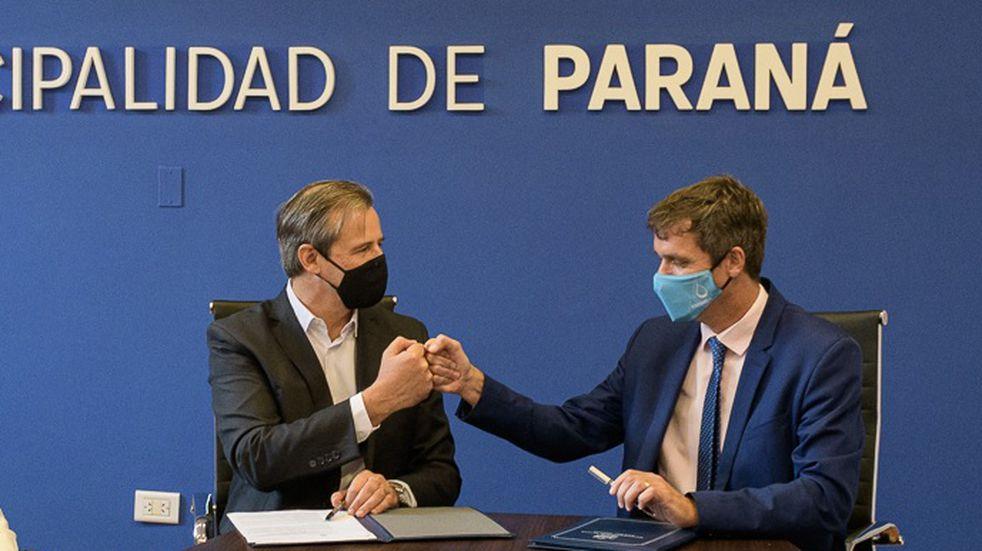 """Bahl y Cresto le contestaron a Rogelio Frigerio: """"Paraná y Concordia son mucho más que los índices que hoy lo alarman"""""""