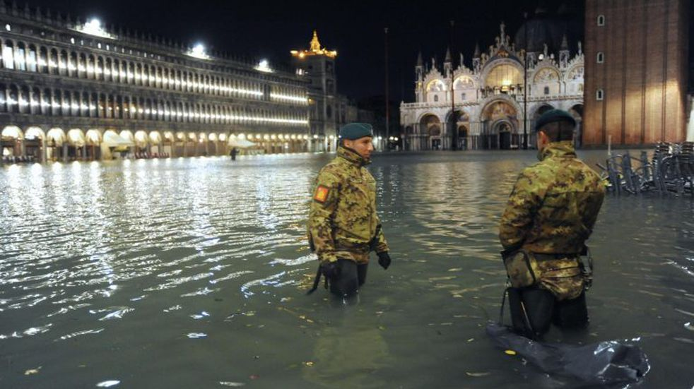 Las fotos más impactantes de la inundación histórica en Venecia