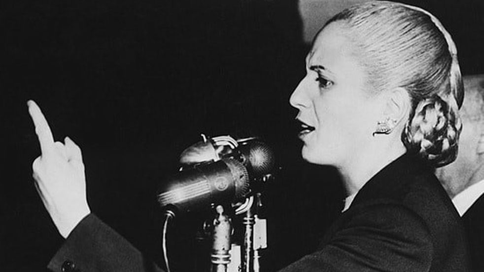 Aniversario de fallecimiento de Eva Perón