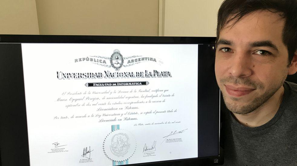 La UNLP ya entrega diplomas digitales a sus graduados