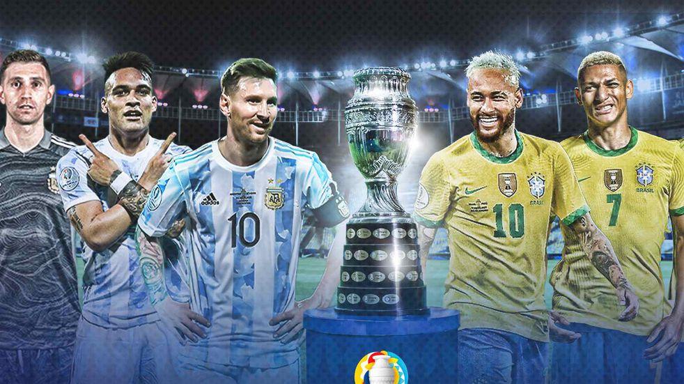 Argentina vs Brasil: a qué hora juegan hoy
