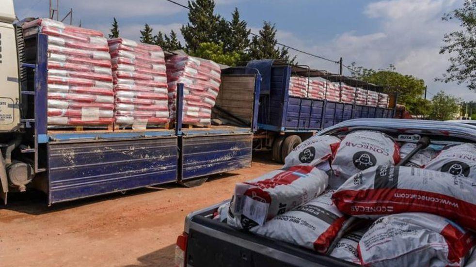Funcionarios de la Provincia irán a La Cumbre para informar sobre la asistencia que recibirán los productores agropecuarios que se vieron afectados por los incendios forestales