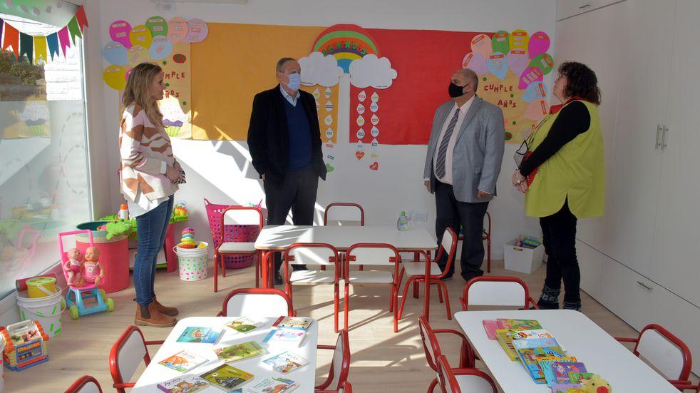 """Educación en Tandil: inauguraron """"Pamperito"""", el nuevo jardín maternal de la ciudad"""